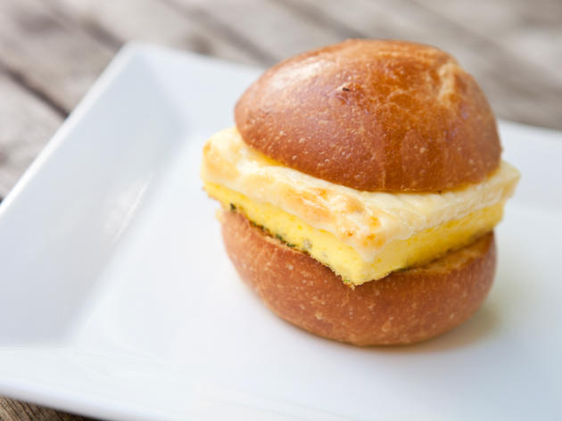 Perfect Little Egg Sandwich at Dominique Ansel Bakery
