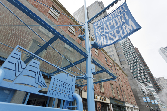 Free-Fridays Program at the South Street Seaport Museum