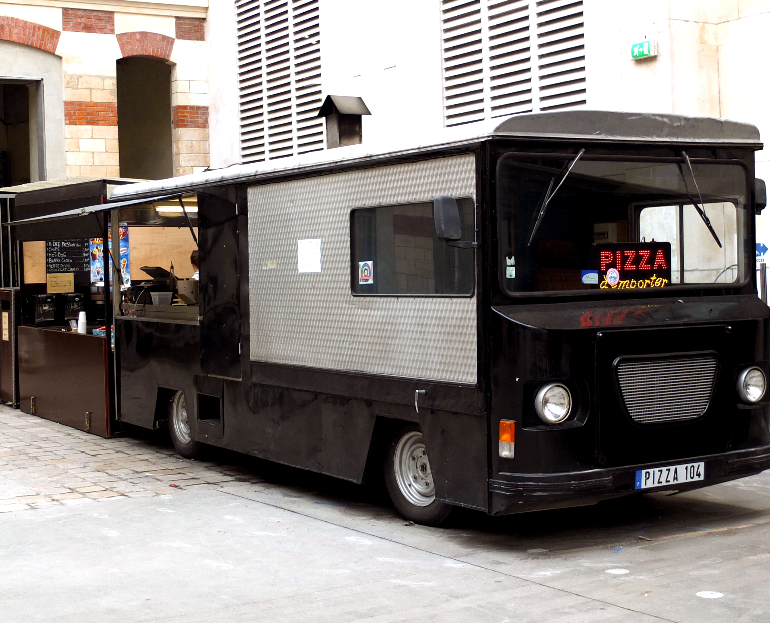 food truck notre s lection paris. Black Bedroom Furniture Sets. Home Design Ideas