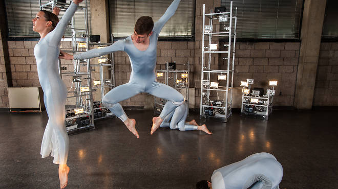 Trisha Brown Dance Company rehearses Astral Converted