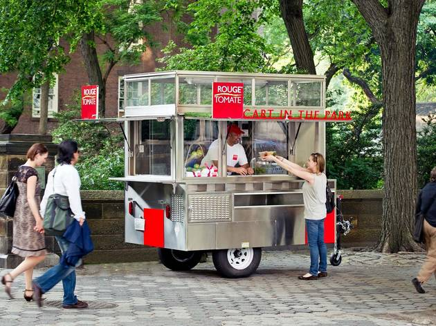 Rouge Tomate Cart in the Park