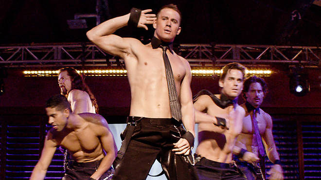 Channing Tatum, front, in Magic Mike