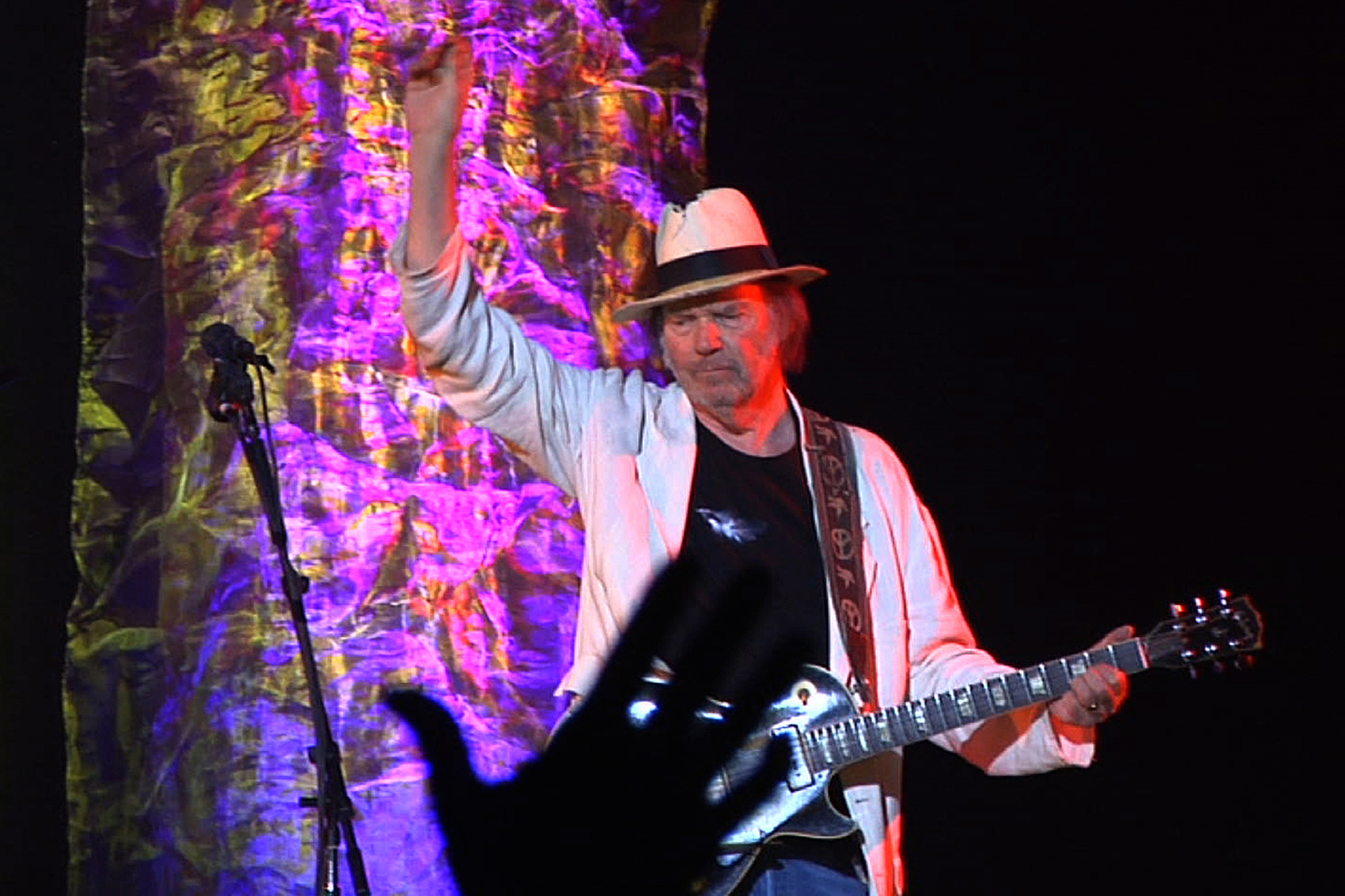 Neil Young performs at Global Festival 2012, one of Time Out's 101 things to do in New York in the fall