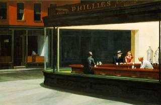 ('Nighthawks', 1942 / Friends of American Art Collection © Art Institute of Chicago)