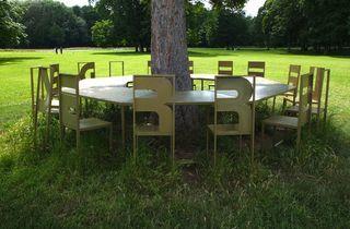 (Vue du domaine pendant l'exposition 'Salons', été 2012 / © Tania Brimson / Time Out)