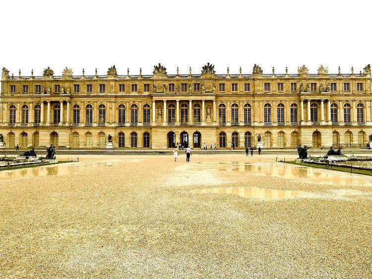 J. Vasconcelos au château de Versailles