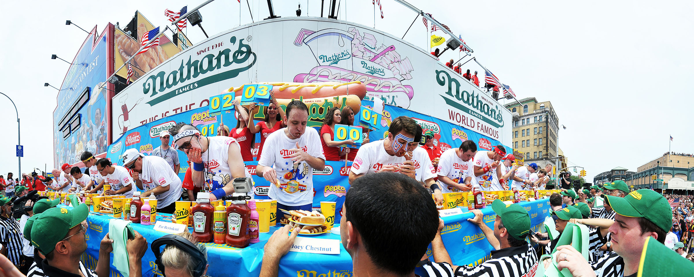 12 facts you didn't know about Nathan's Hot Dog Eating Contest