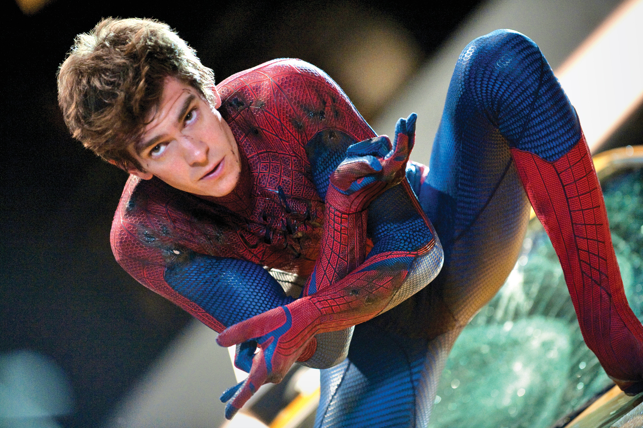 The Hot Seat: The Amazing Spider-Man's Andrew Garfield