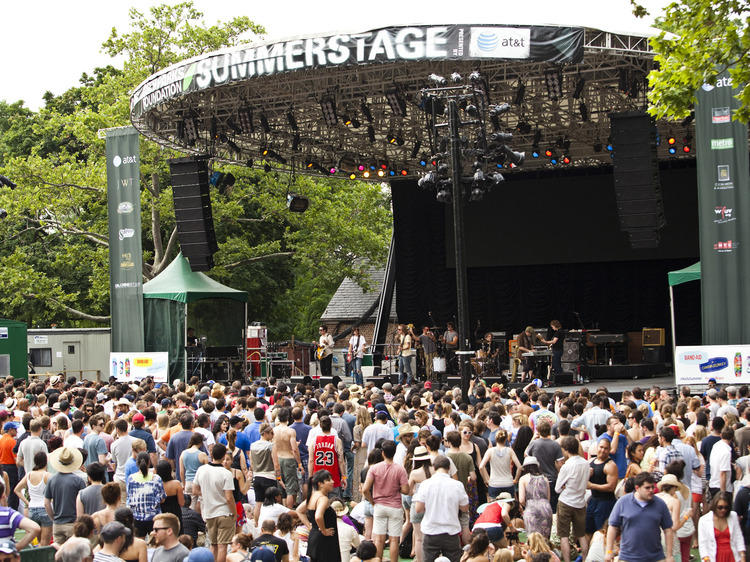 See a free SummerStage show