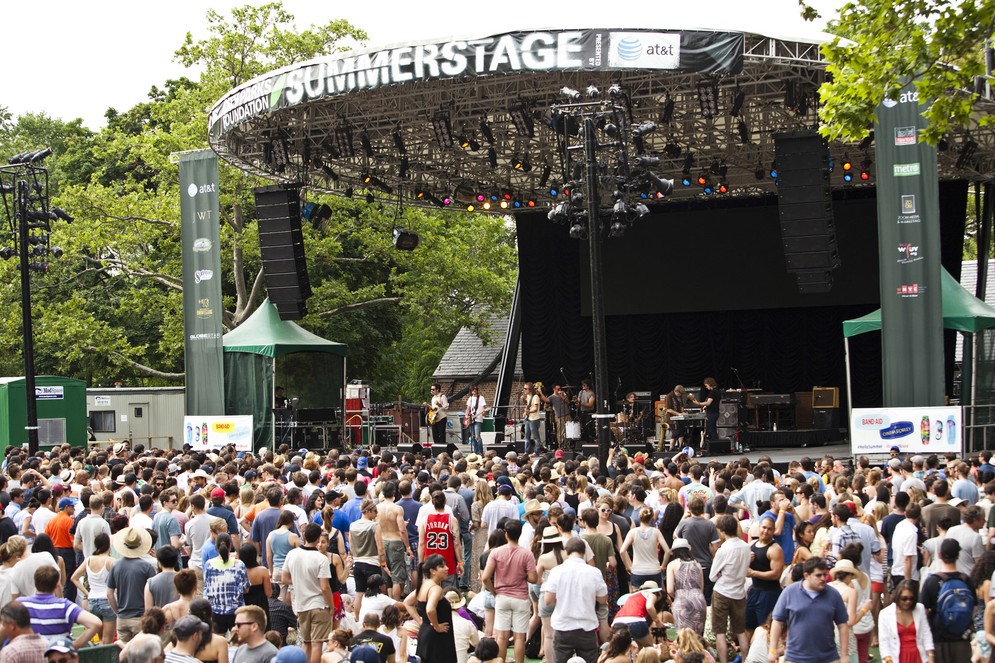 Free Concerts at Central Park Summerstage