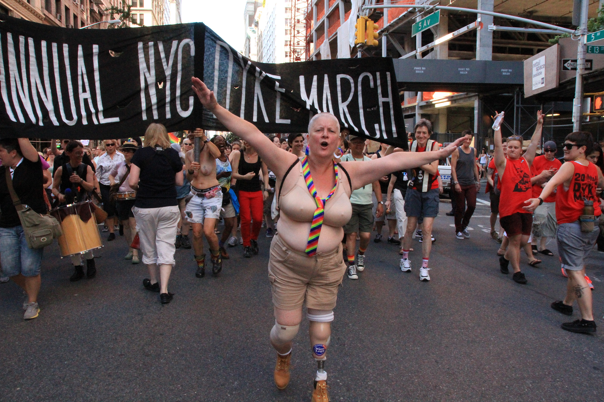 Gay Pride NYC: 20th annual Dyke March