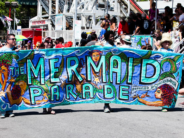 Image result for mermaid parade