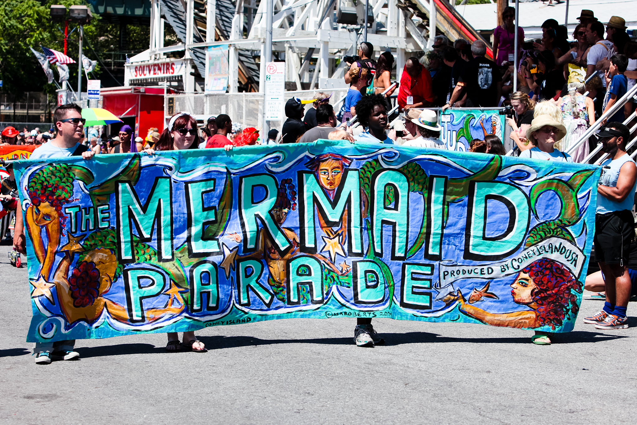 Wave your freak flag at the Mermaid Parade