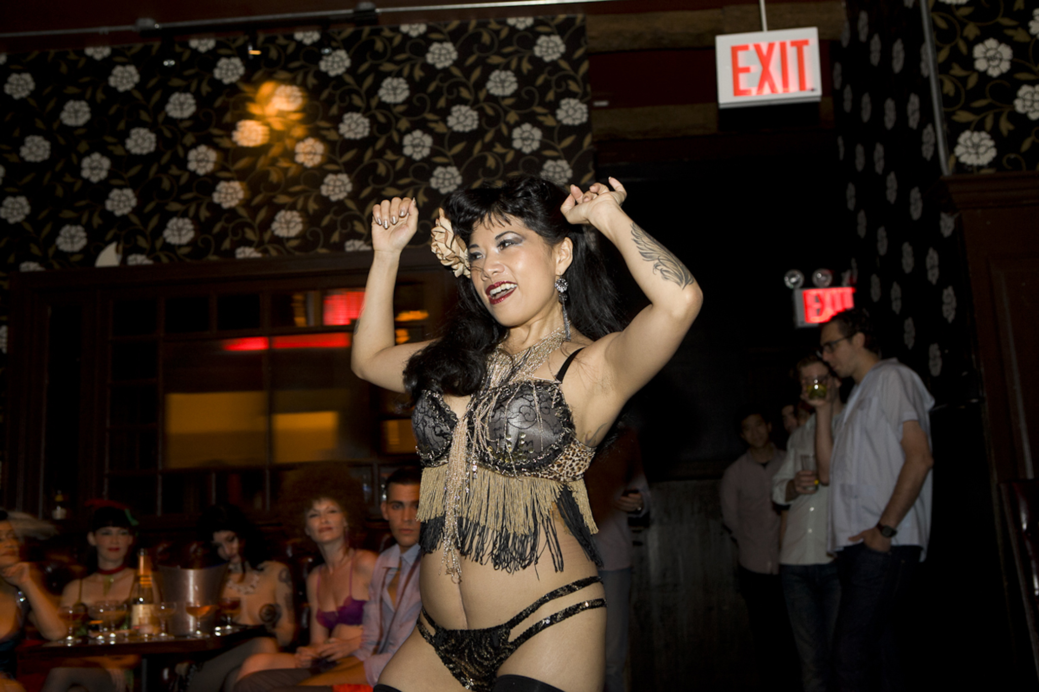 See scantily clad babes on the LES