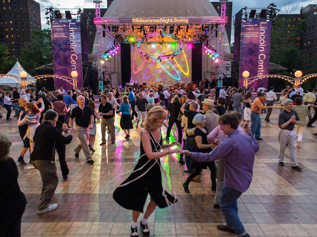 Midsummer Night Swing at Lincoln Center (SLIDE SHOW)