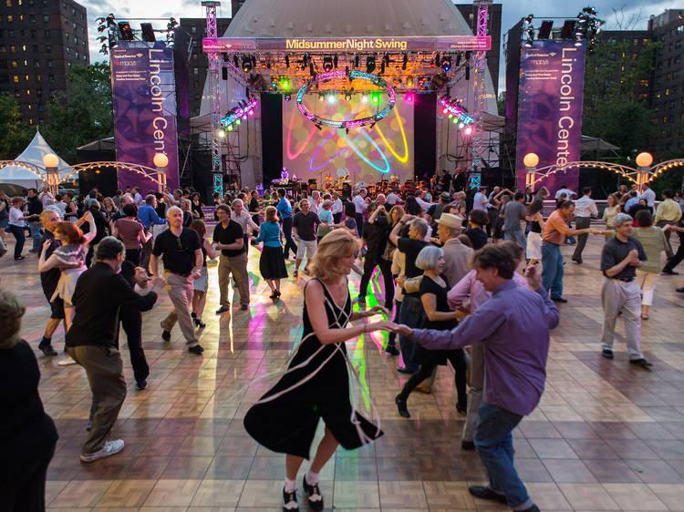 Dance the night away at Midsummer Night Swing
