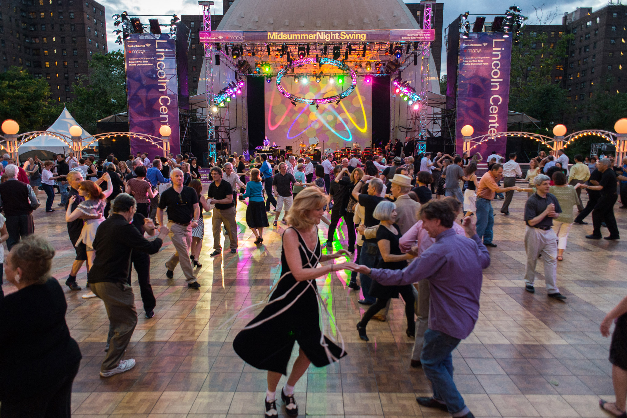 Learn some new moves at Midsummer Night Swing