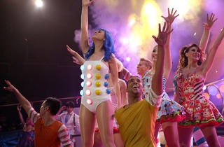Katy Perry, center, In Katy Perry: Part of Me
