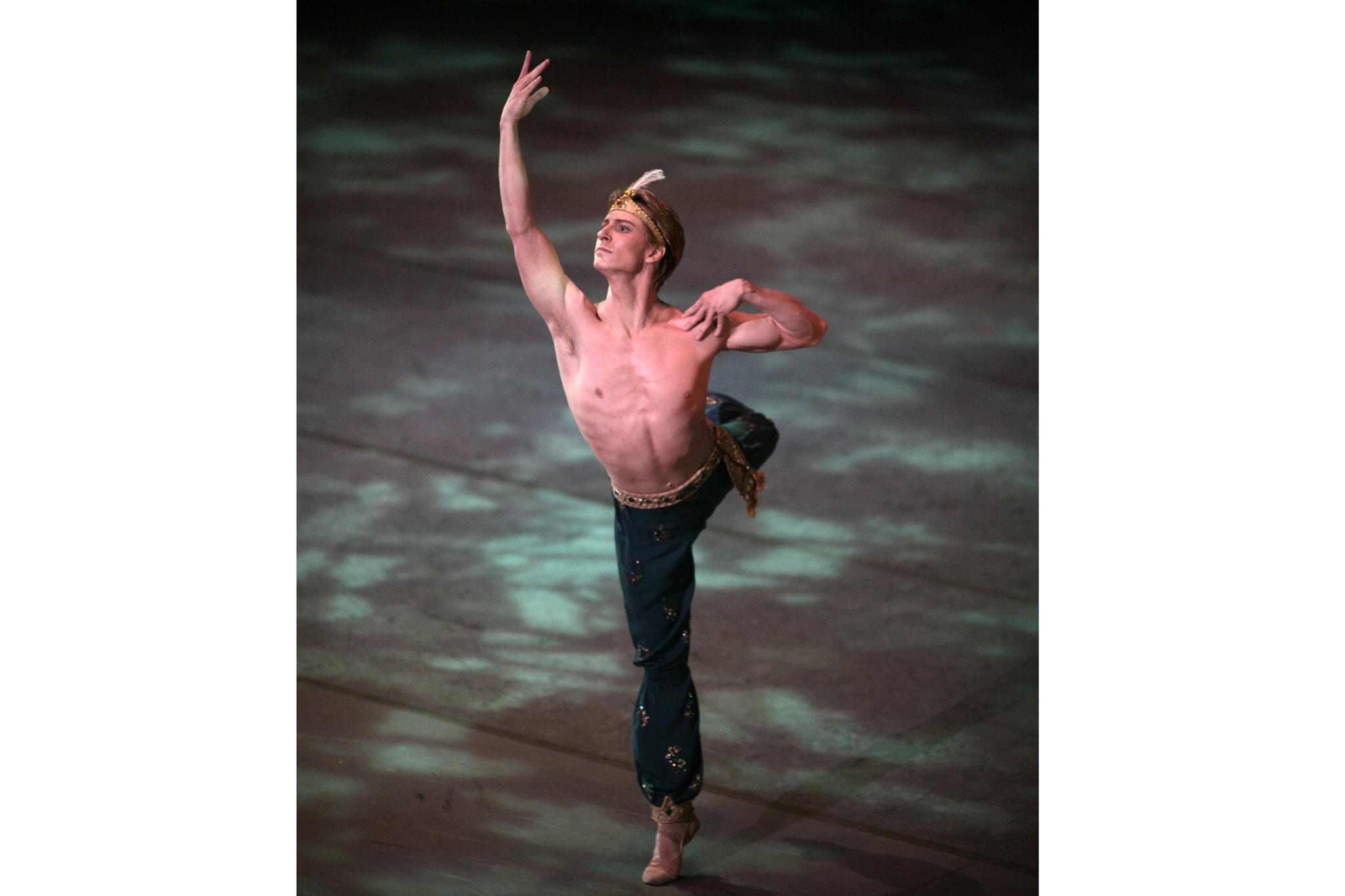 Former principal dancer of New York City Ballet, Ethan Stiefel