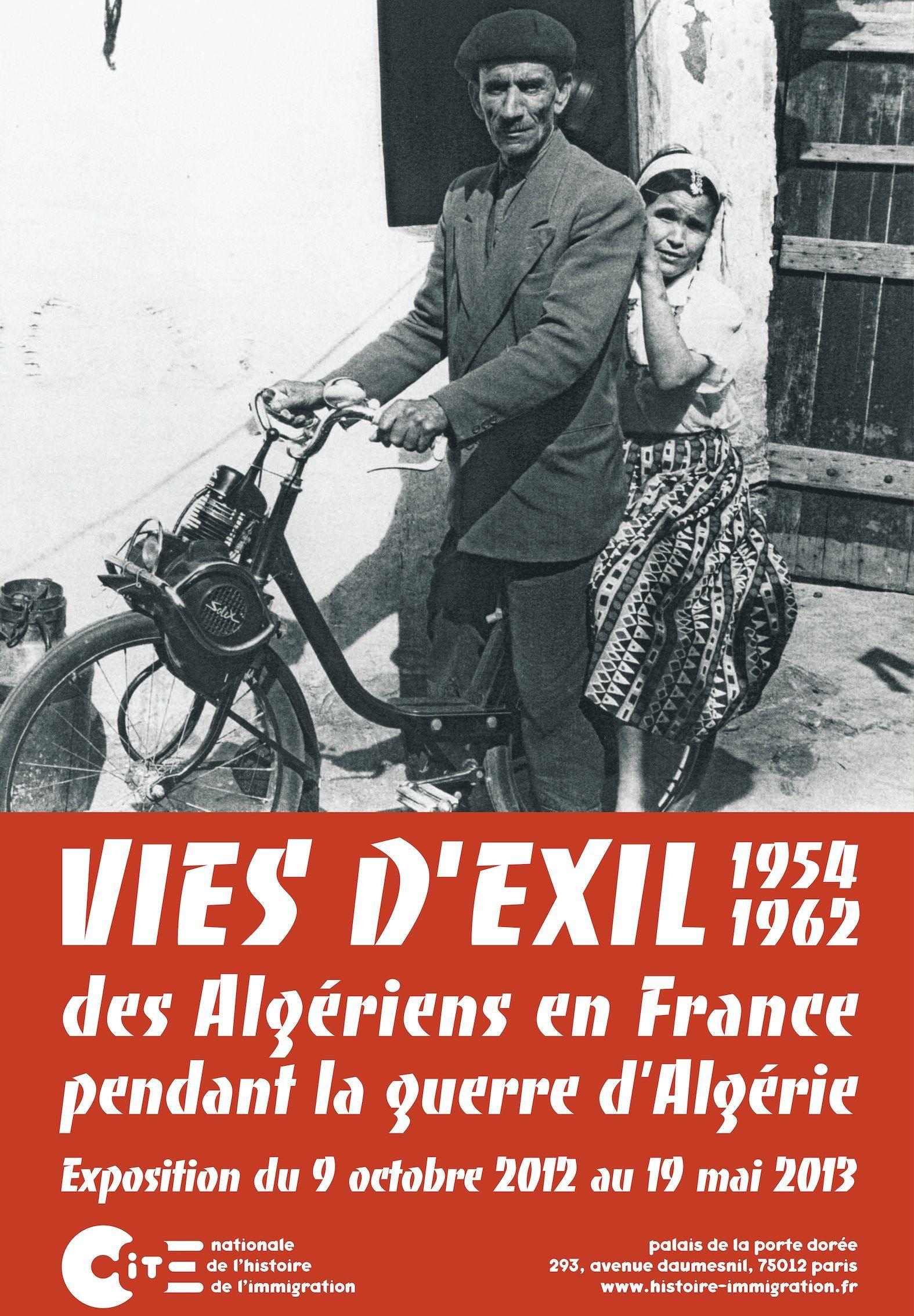 Vies d'exil : des Algériens en France pendant la guerre d'Algérie 1954-1962