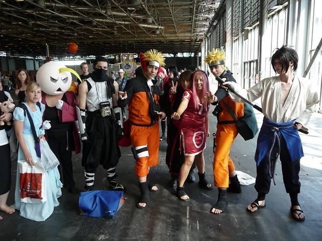 (Une équipe de cosplayers spécial Naruto / © DR)