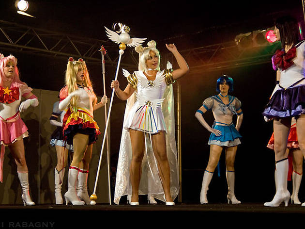 (La team Sailormoon au complet / © DR)
