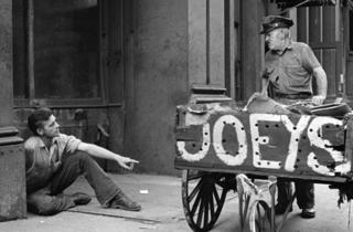 New York movies: On the Bowery (1956)