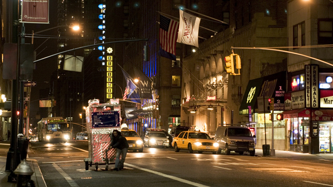 New York movies: Man Push Cart (2005)
