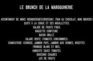 Le brunch