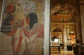 Ancient Egypt (Denon: lower ground floor; Sully: lower ground, ground & 1st floors. Green on Louvre maps.)