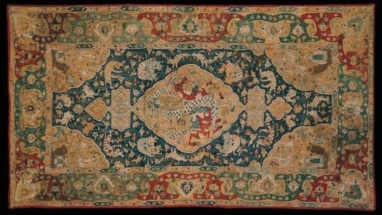 Islamic arts (Richelieu: lower ground floor. Turquoise on Louvre maps.)