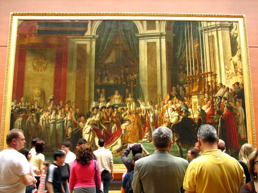Le Sacre de Napoléon, Louvre
