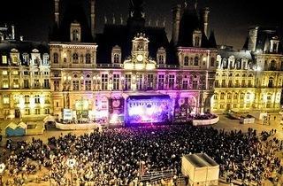 Paris Plages at L'Hôtel de Ville