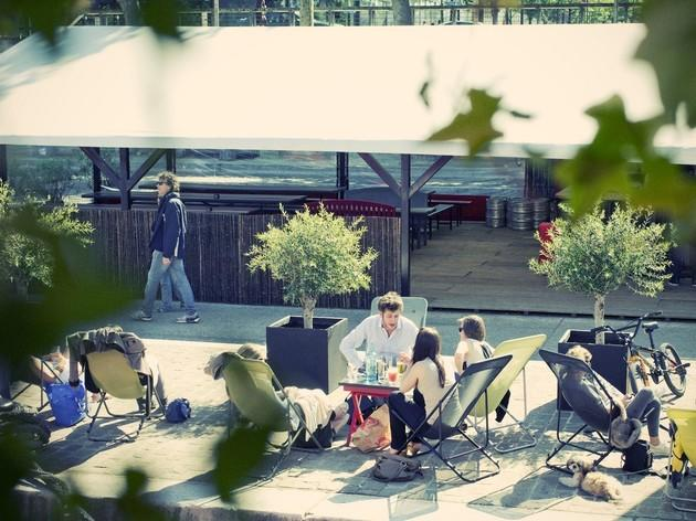 Pop along to a pop-up summer terrace