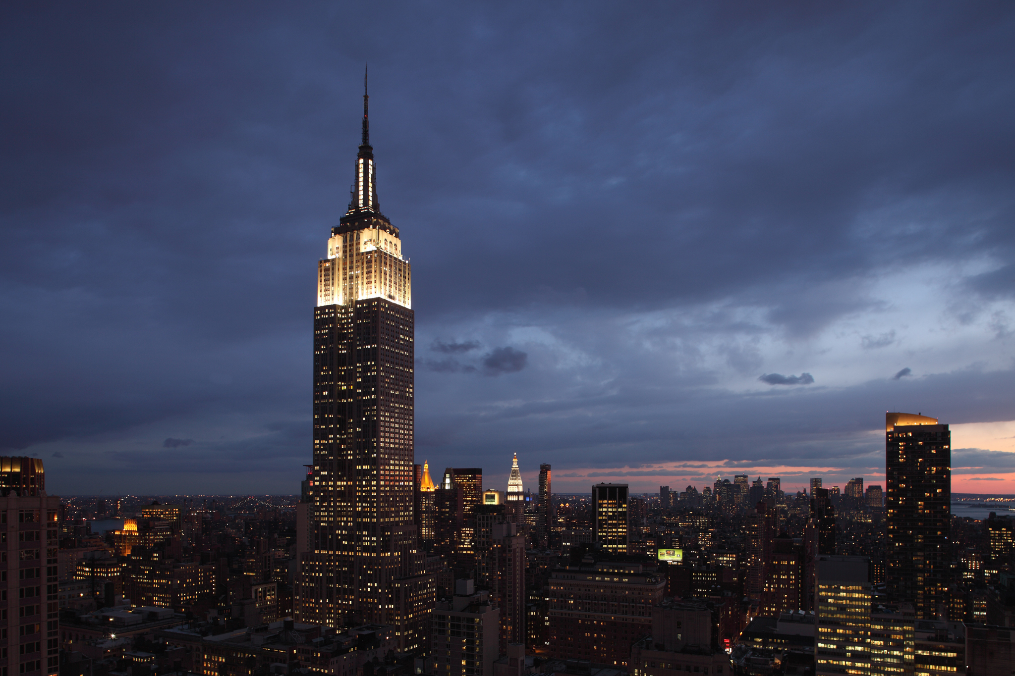 Get a panoramic view of the city atop the Empire State Building