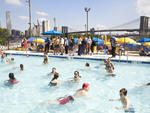 Brooklyn Bridge Park's pool at Pier 2