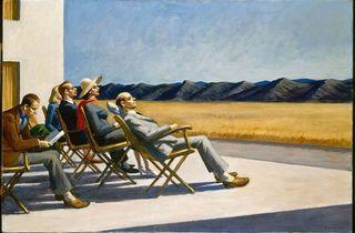 ('People in the sun', 1960 / © 2011 Photo Smithsonian American Art Museum/ Art resource / Scala Florence)