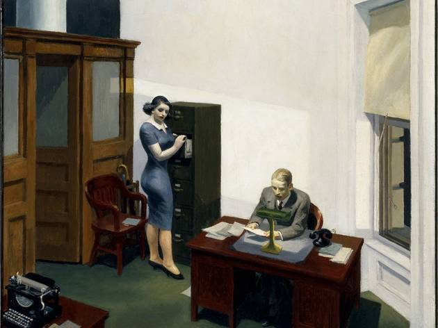 ('Office at night', 1948 / © Walker Art Center, Minneapolis)