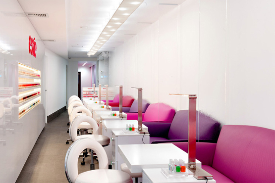 Mani/Pedi at Essie Flagship Salon in Samuel Shirqui