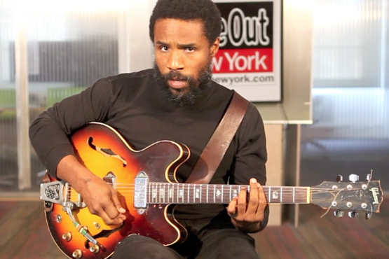 "Cody ChesnuTT performs two songs from his album ""Landing On a Hundred"""