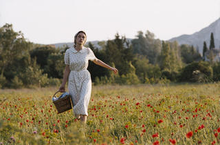 Astrid Berges-Frisbey in The Well Digger's Daughter