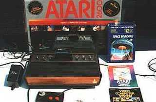 Les ancêtres  (Atari 2600 / © geeknchips.fr)