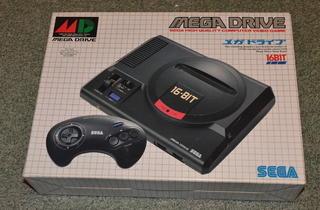 Les 16-bit (Mega Drive / © Camille Coste)