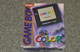 Les portables (Game Boy Color / © Camille Coste)