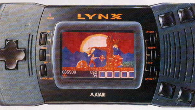 Les portables (Lynx / © mr-atari.com)