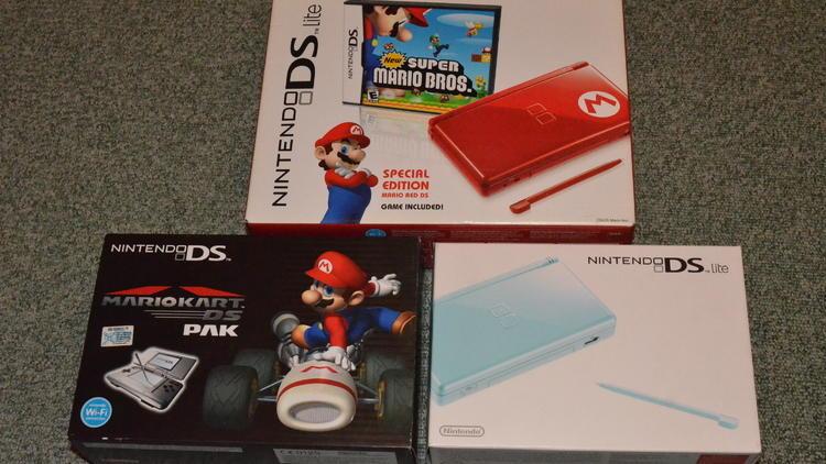 Les portables (Nintendo DS Lite / © Camille Coste)