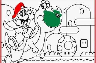 ('Mario Paint' sur Super NES / DR)