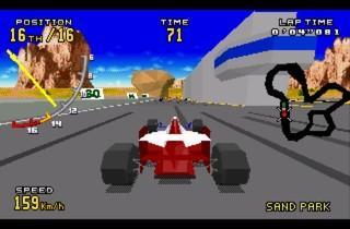 ('Virtua Racing Deluxe' sur MegaDrive / DR)