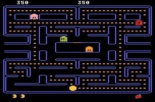 ('Pacman' sur Atari 800 / DR)