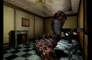('Resident Evil Director's Cut' sur PS1 / DR)